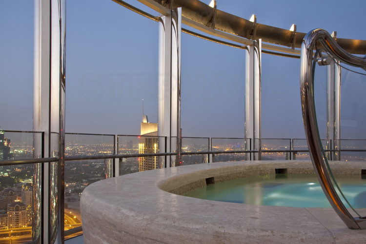 Inside The Burj Khalifa Highest In The World With 828 Meters One