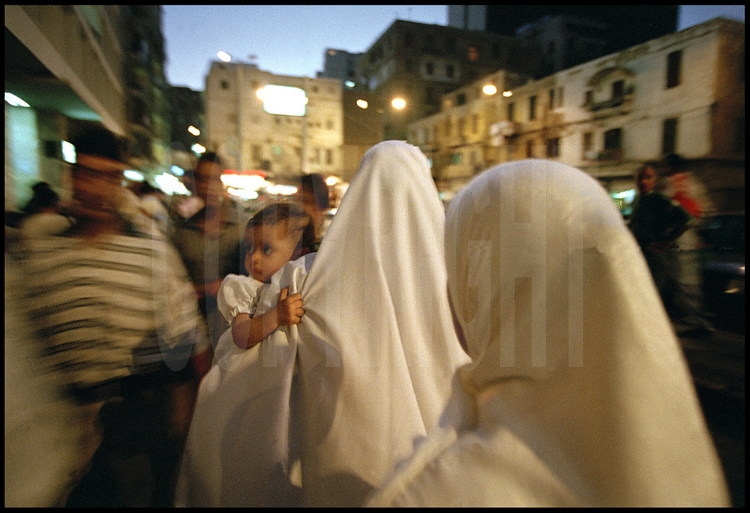 The influence of Mediterranean culture can be seen in local customs:  Alexandrian women wear the veil less than in other Egyptian cities.