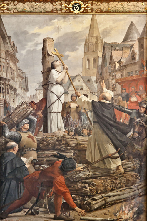a historical look at the records of joan of arc In fact, in history, carlyle in 17v describes one of the most prominent a figures in the revolution, one demoiselle theroigne, who was compared by some to joan of arc also know as the maid of orleans (perhaps we can deduce from the comparison to joan of arc that joan was also reasonably attractive, although this is admittedly a stretch.