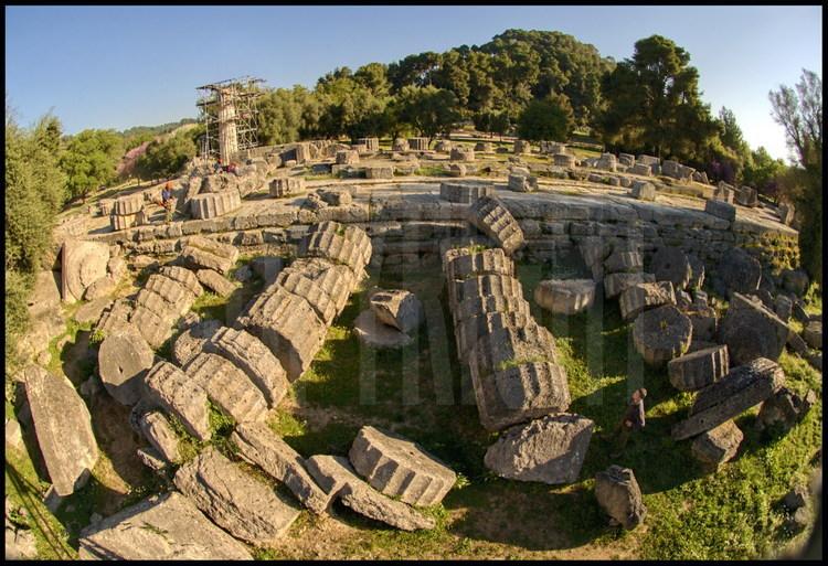 Canon de toute l architecture grecque antique le temple for Architecture grec